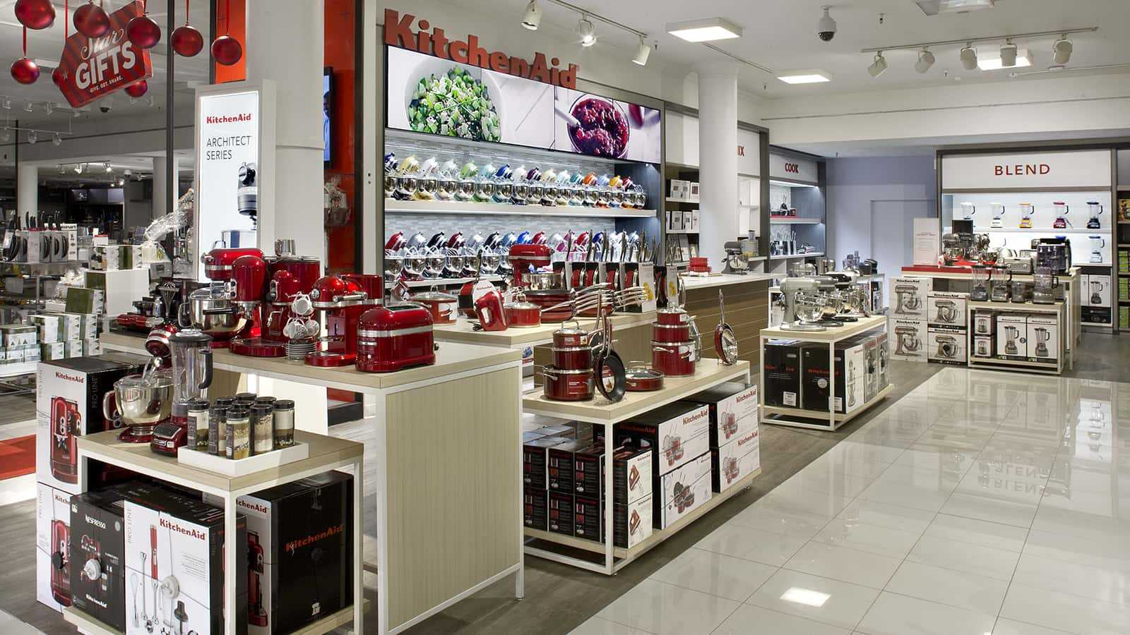KitchenAid shop-in-shop at Macy's Herald Square.